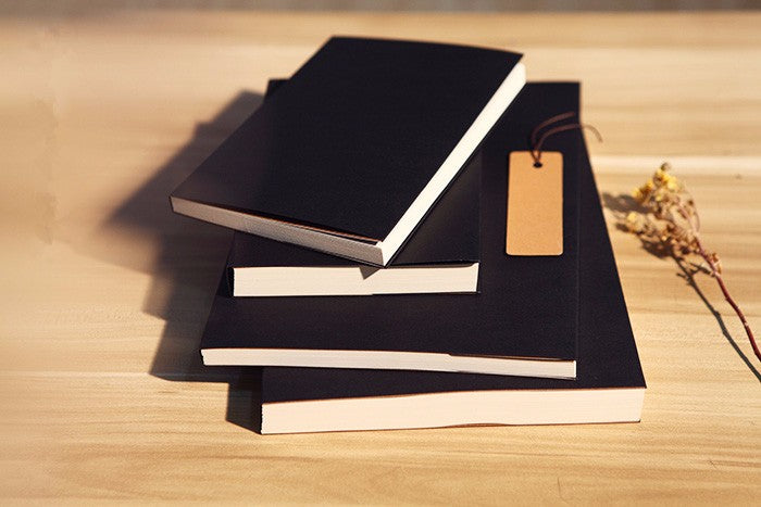 Blank Black Kraft Sketchbook