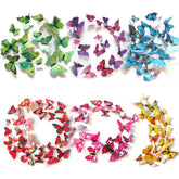 3D Butterfly Wall Stickers - 12pcs