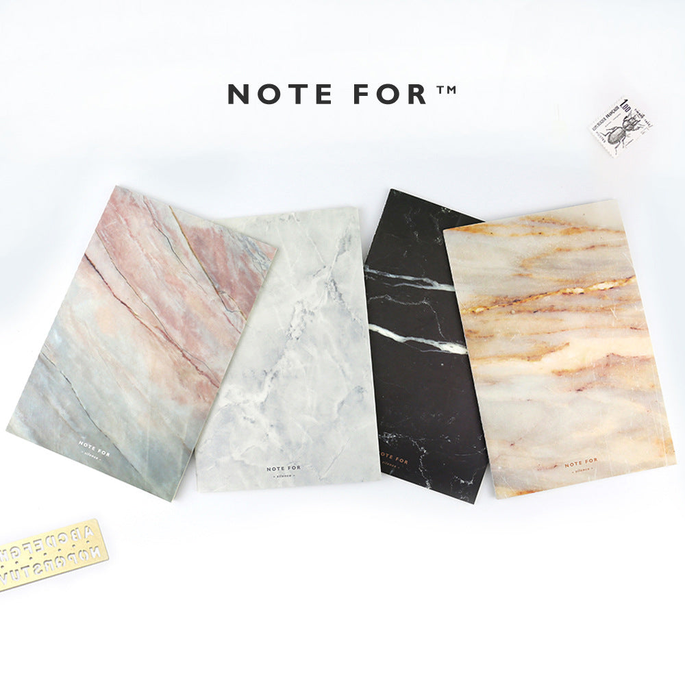 Soft Cover A5 Marble Print Notebook