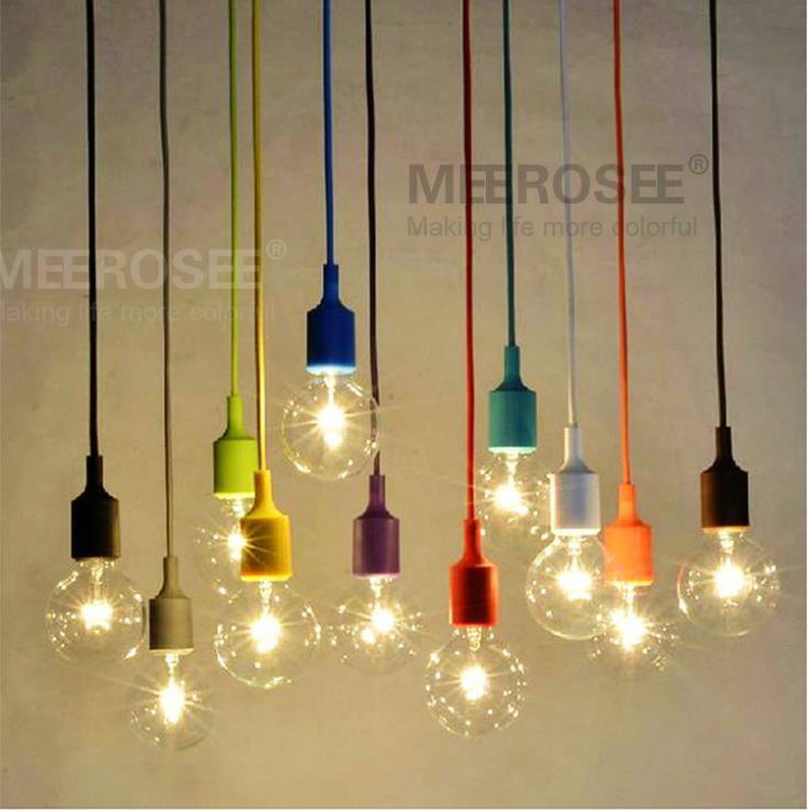 Colorful Pendant Light Socket