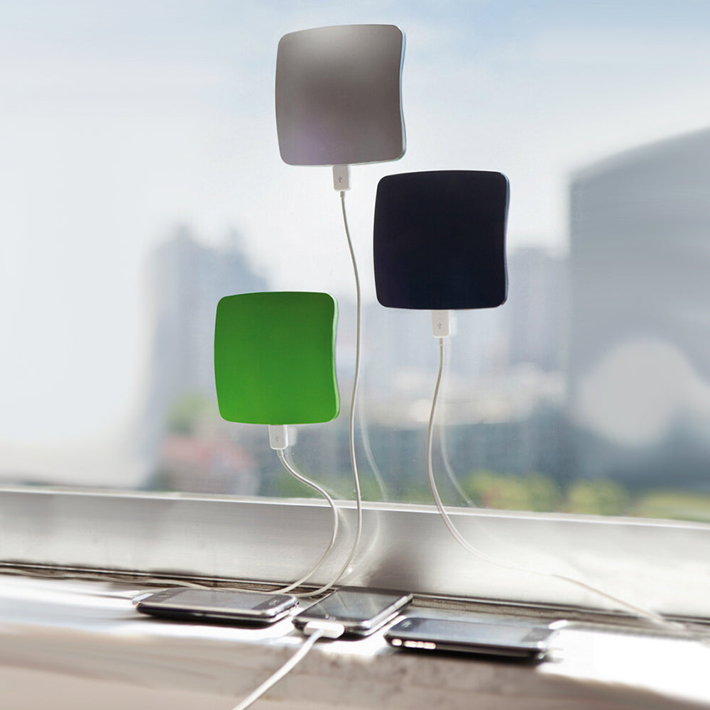 Portable Window Suction Solar USB Charger - Powerbank