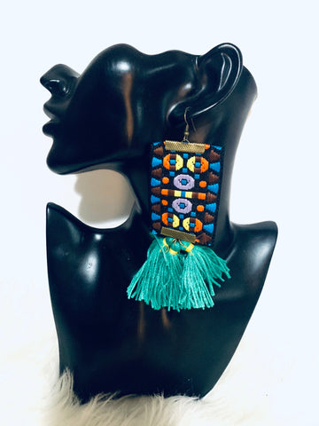 Tribal Dangle Fringe Earrings New Arrivals