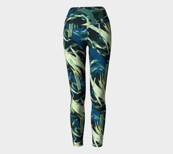 Aqua Fauna Yoga Leggings