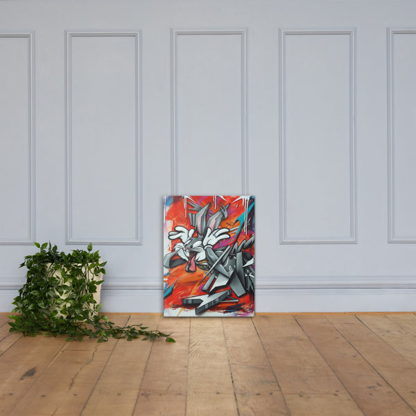 Buggin Out Canvas print