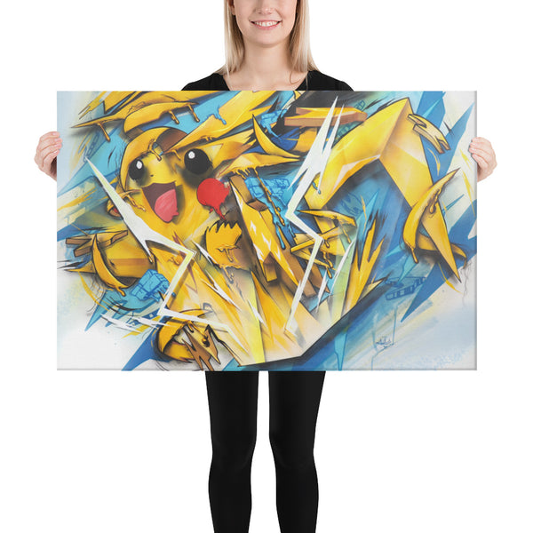 Pika Pop Canvas print