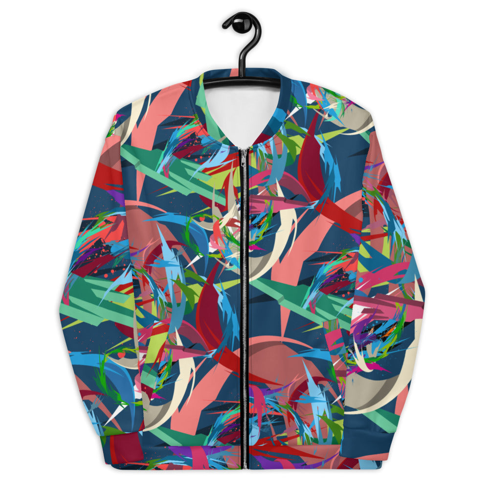 Third Dimension Unisex Bomber Jacket