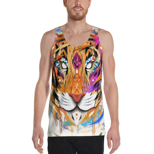Midnight Tiger Tank Top