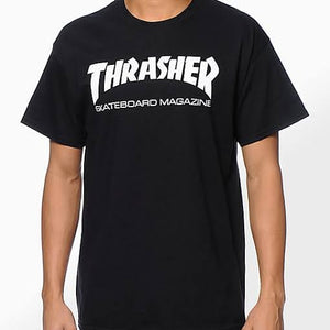 Thrasher t-shirt Skate Mag black