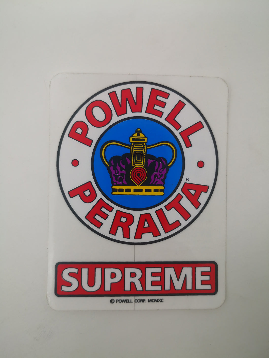 Sticker Powell Peralta Supreme 9x6.8cm