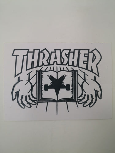 Stucker Thrasher Book 9x6.5cm