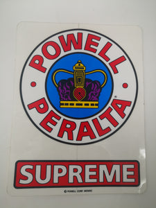 Sticker Powell Peralta Supreme 15x11.5 cm