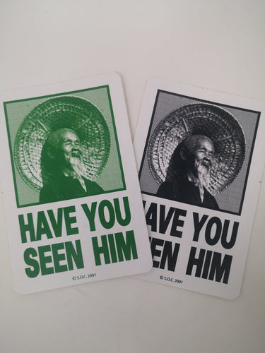 Sticker Powell Peralta - Have you seen him 11x7.5cm