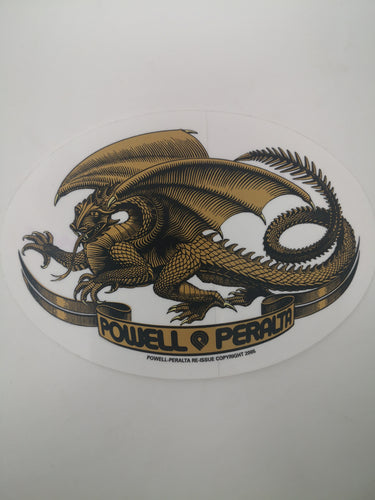 Sticker Powell Peralta Dragón 12.7x9 cm