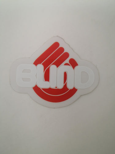 Sticker mini Blind 4.5x3.8 cm