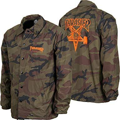 Thrasher coach jacket camo