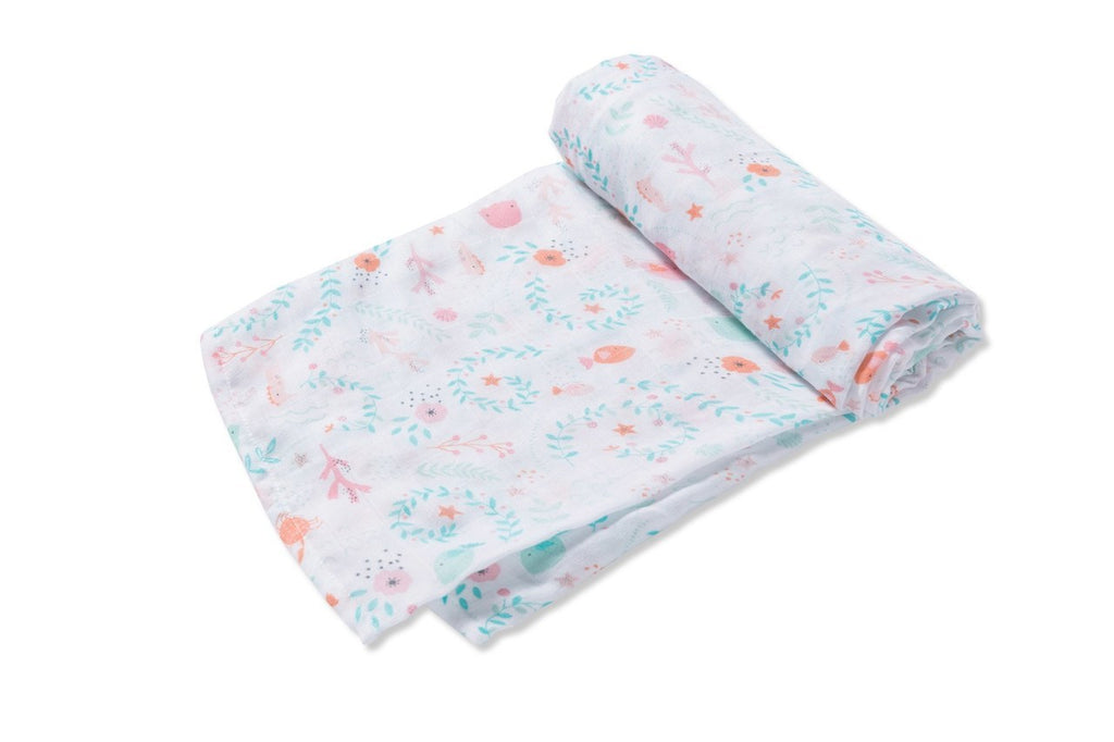 SWADDLE BLANKET- Jellyfish Garden