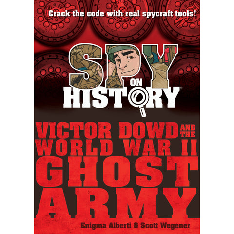Spy on History Book - Fun Gift for Kids 8-14
