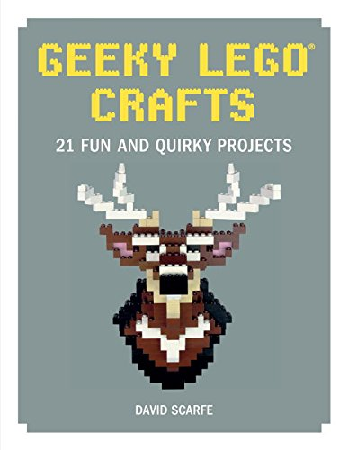 Unique gift for LEGO lovers, Geeky LEGO Crafts