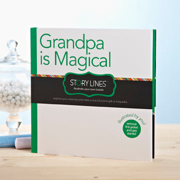 Unique Gift for Grandpa (Illustrate Your Own Book)