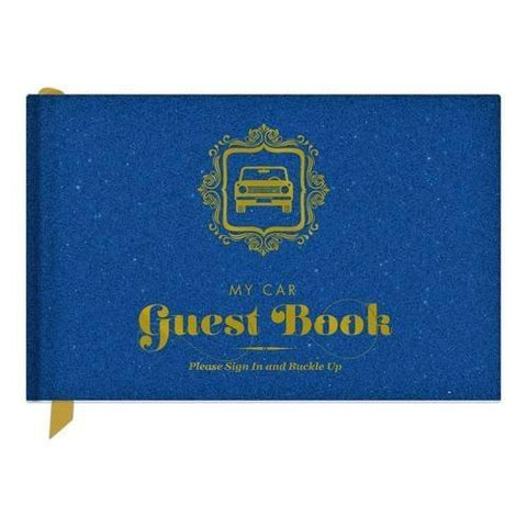 Car Guest Book is a unique gift for new and old drivers.