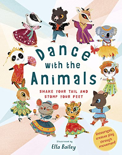 Dance with the Animals Book - Unique Gift for Kids