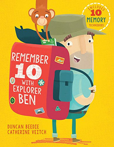 Remember 10 With Explorer Ben, unique gift, kid, book