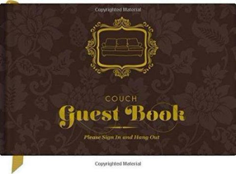 Couch Guest Book is a unique housewarming gift