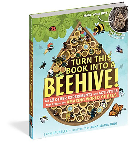 Turn This Book Into a Beehive! Unique Gift for Tween and Young Teens