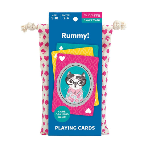 Rummy Playing Cards, unique game, quirky, gift, gifts