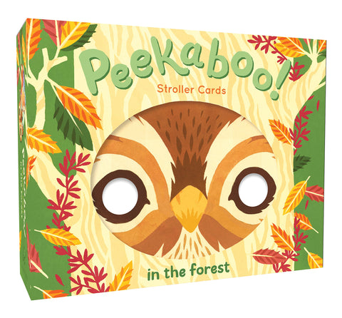Peekaboo! Stroller Cards: In the Forest, unique gift, toddler, baby