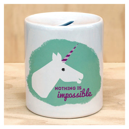 UNICORN COIN BANK, unique, gift, birthday