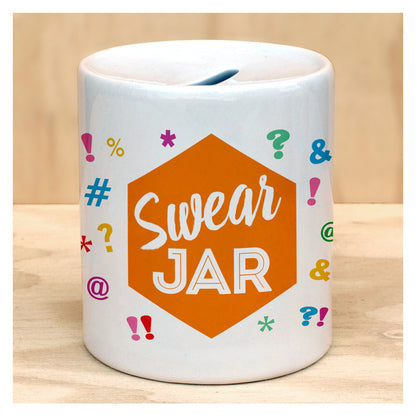 SWEAR JAR COIN BANK, unique, gift, birthday, father's day
