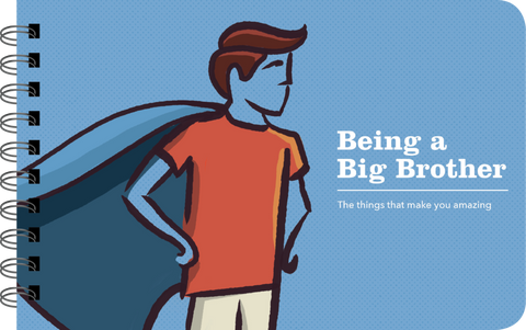 BEING A BIG BROTHER: ILLUSTRATED GUIDE FOR BEING AN OLDER BROTHER