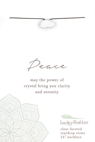 Color Power Necklace - Peace