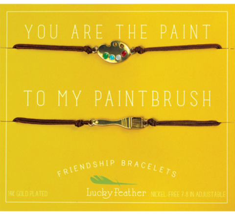 Friendship Bracelet - Gold - PAINT/PAINTBRUSH