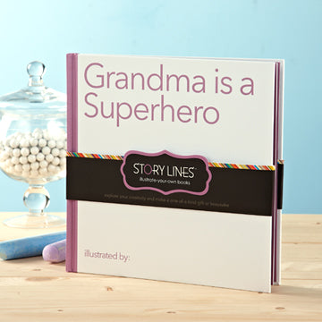 Great Unique Gift for Grandma (Illustrate Your Own Book)
