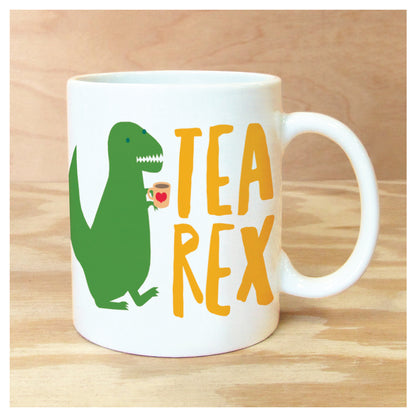 TEA-REX MUG, unique, gift, men, women
