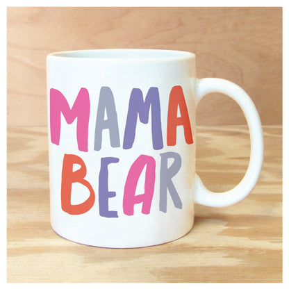 MAMA BEAR MUG, unique, gift, mother's day, mom