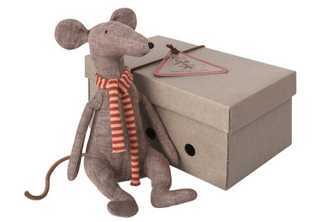 Maileg Cool Rat - Grey