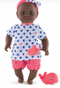Corolle African-American Therapeutic Bath Baby Doll - Toddler Gift
