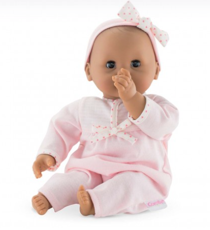 Corolle Mexican Latino Brown Skin Baby Doll - Toddler Gift
