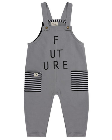 Children's Trendy organic overalls, great gender neutral gift