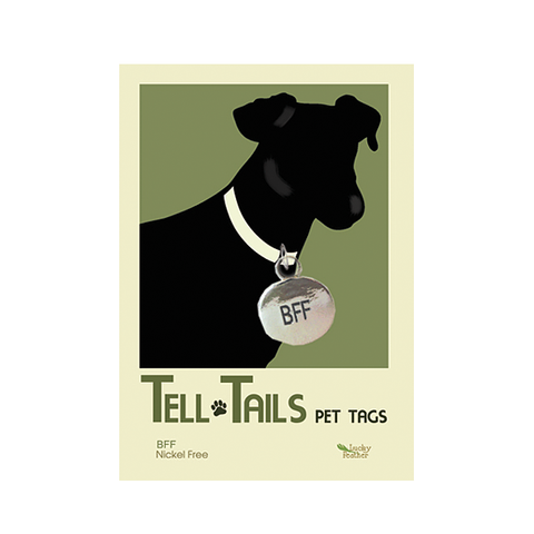 Tell Tails Pet Tags - BFF- unique gift