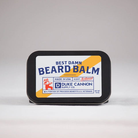 Duke Cannon Best Damn Beard Balm, unique gift, men