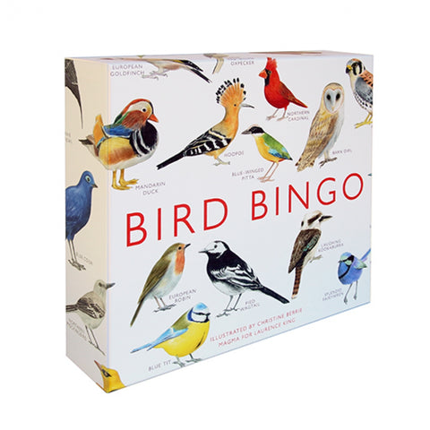 Bird Bingo, unique gift, educational, game