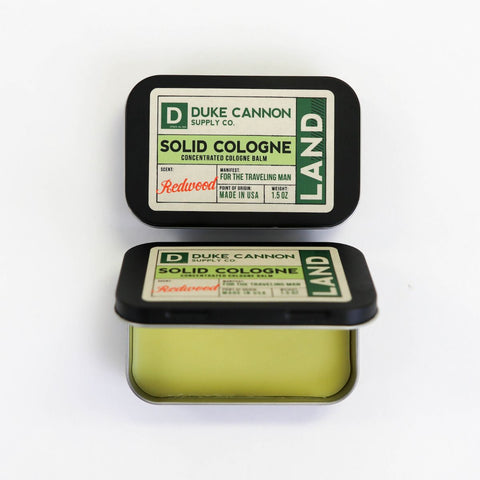 Duke Cannon SOLID COLOGNE - LAND - Unique Motorcyclist Gift