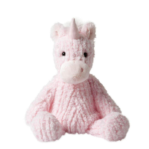 Pink Whimsical Stuffed Animal Petals Unicorn