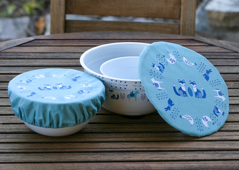 Swedish Nesting Bowls and Cover Gift Set