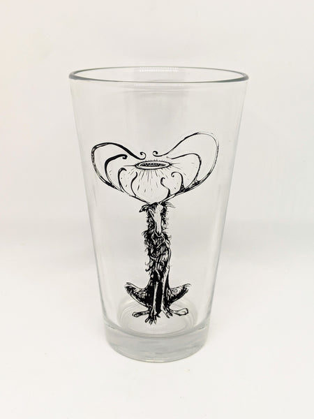 """The Watcher"" Pint Glass"