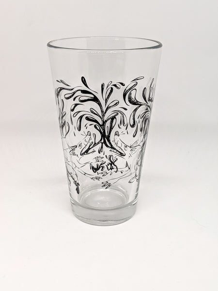 """Share a Life"" Pint Glass"